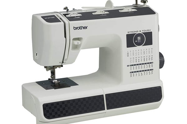 Brother ST371HD is another excellent contender in the best leather sewing machines ranklist