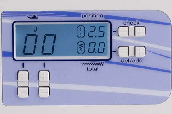 Easy to use lcd screen