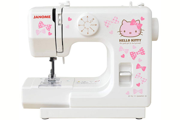 Janome KT-W in white