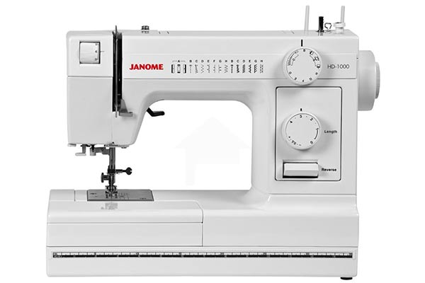Janome 1000 is an upgrade from the previous model