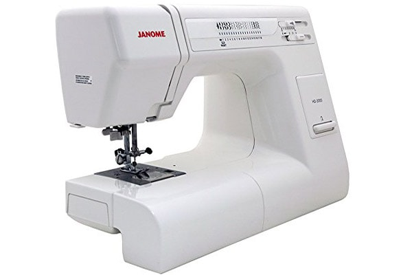 Janome HD3000 - the balance between features and price earned it its top spot and the best heavy duty sewing machine overall moniker!