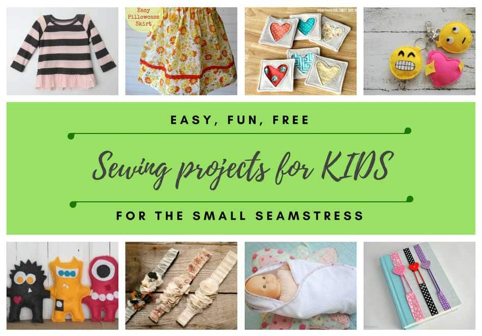 30 fun and easy sewing projects for kids and teens hello for Sewing crafts for teens