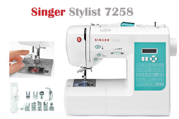 Singer Stylist 40 Create And Embellish Fashions With Ease Cool Singer Stylist 7258 Sewing Machine Reviews