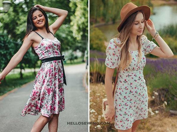 a lines dress
