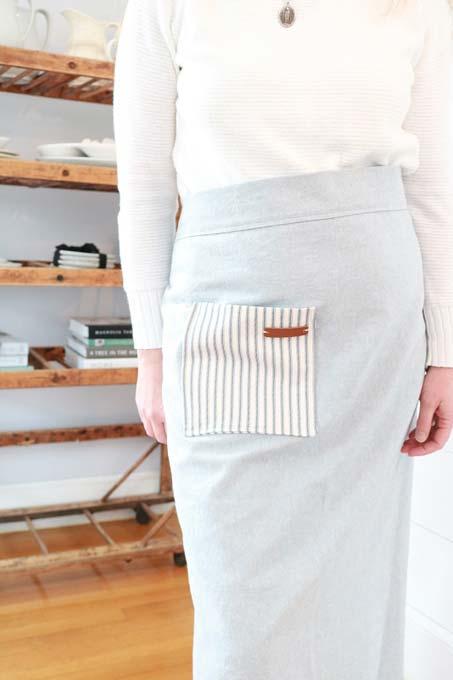 long apron pattern
