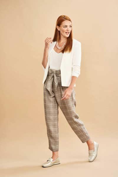 paper bag pants pattern