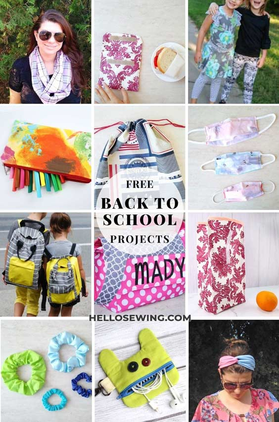 free school projects to sew