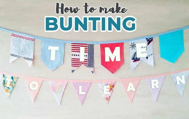 sewing back to school banner