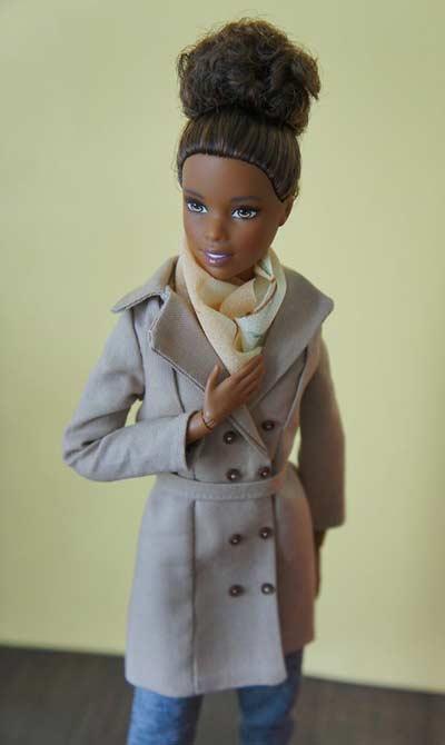 barbie coat pattern