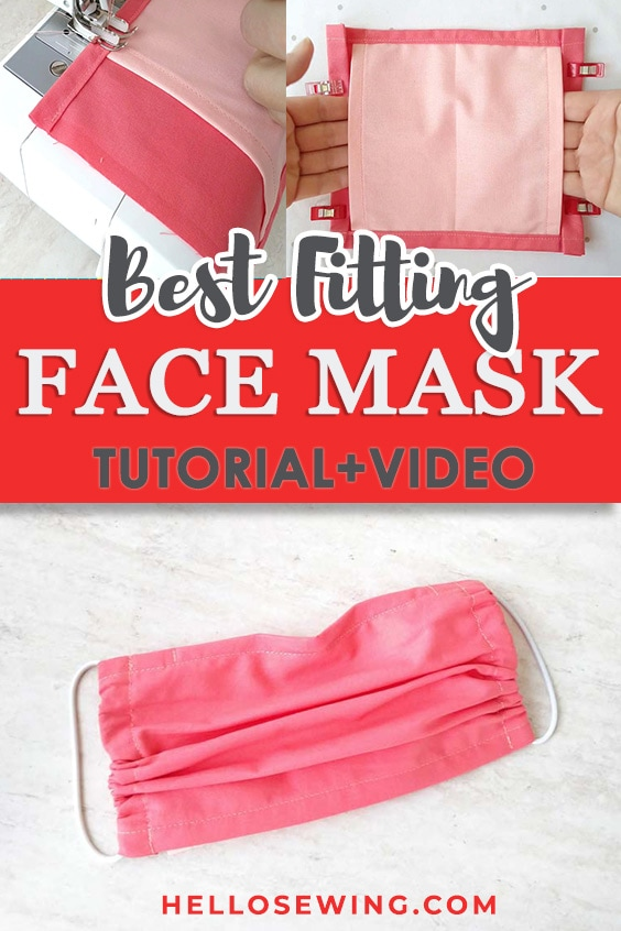 Best fitting face mask - how to create your own custom fit mask