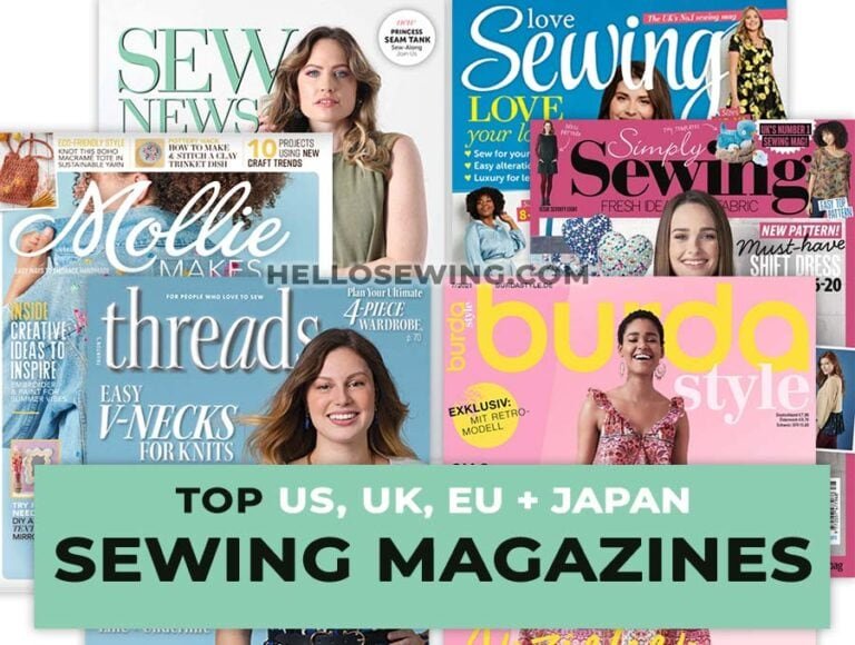 Best Sewing Magazines for Beginners That Worth Subscribing to