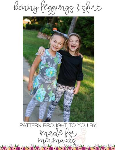 leggings to sew for back to school