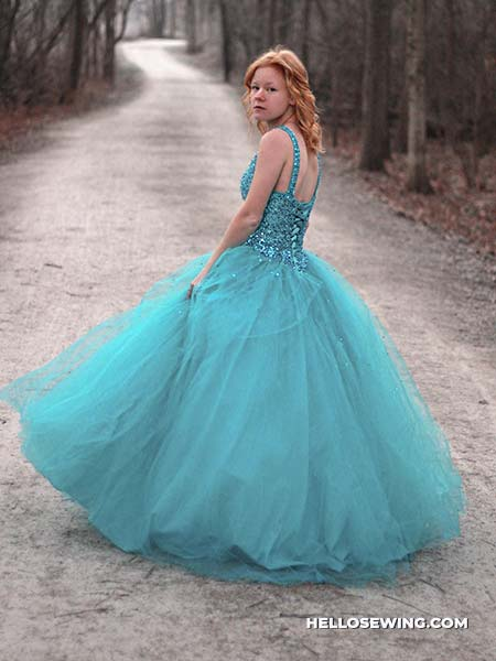 bouffant dress
