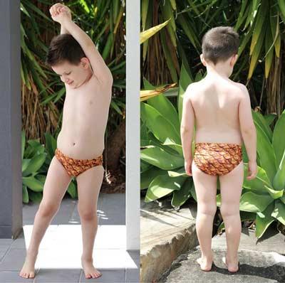 free boys swim briefs pattern