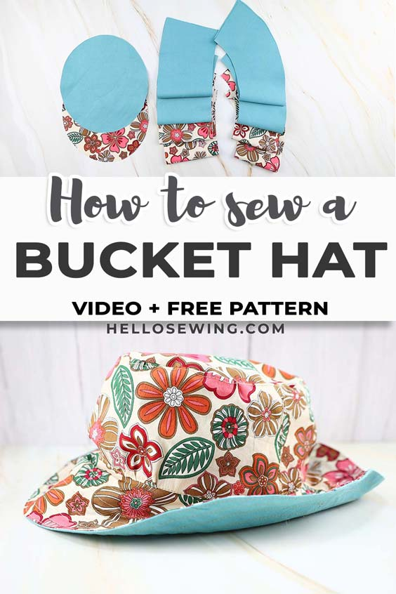 How to sew a bucket hat