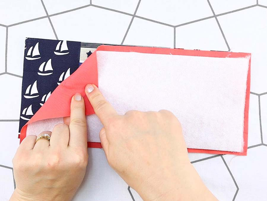 can koozie layering fabrics