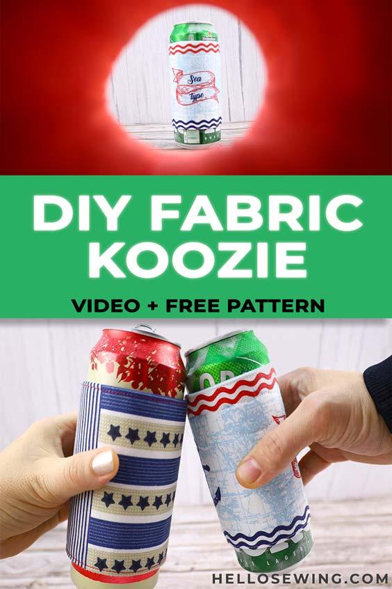 How to make a koozie