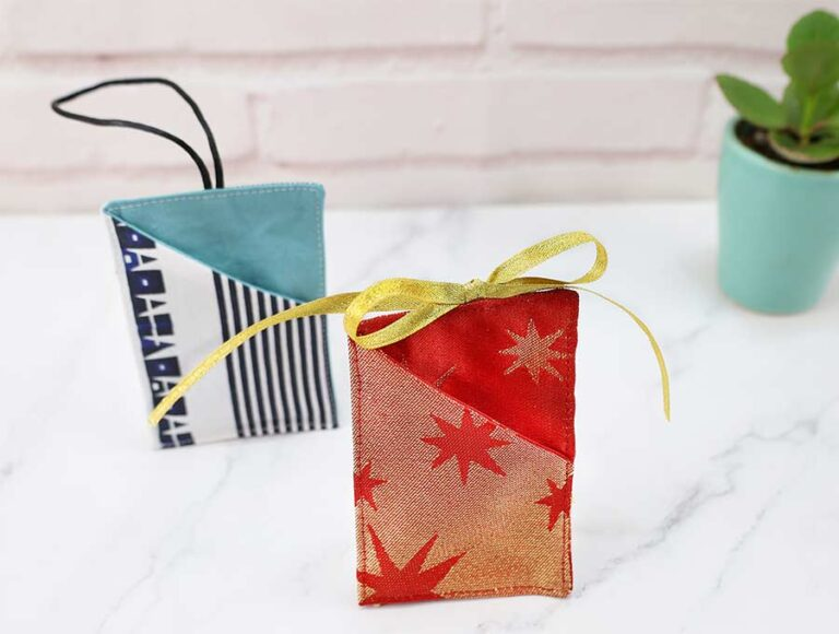 Christmas Gift Card Holder – Video and FREE Pattern