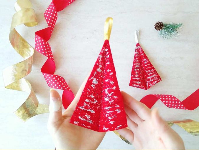 Christmas tree ornament diy