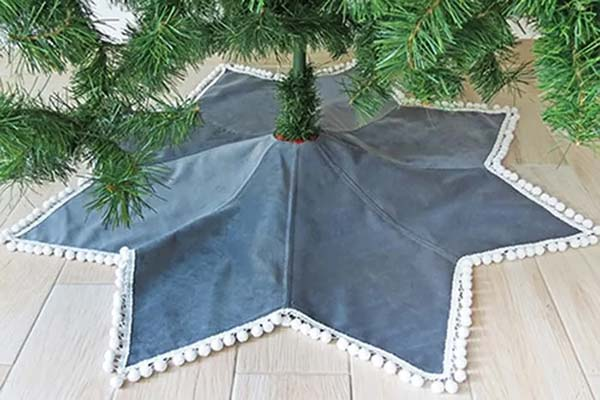 star christmas tree skirt pattern