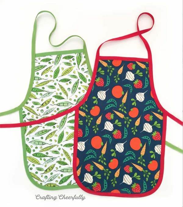 children apron with free pattern