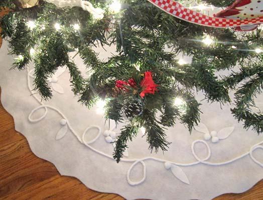 felt tree skirt pattern