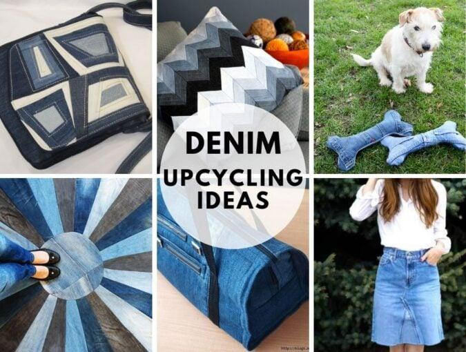 upcycle jeans - diy denim ideas