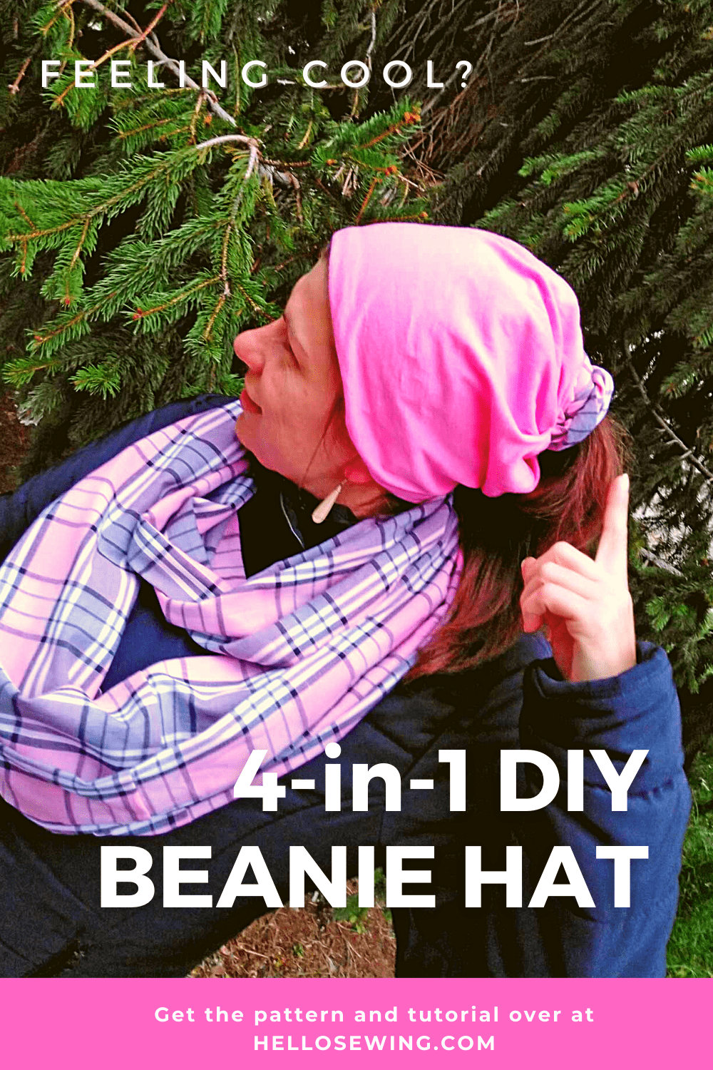 How to sew a beanie (DIY VIDEO)