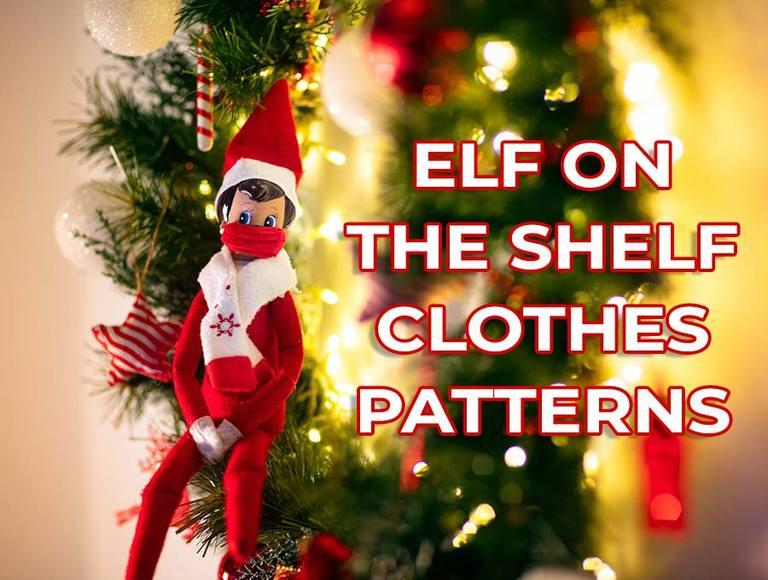 Free DIY Elf on the Shelf Clothes Patterns