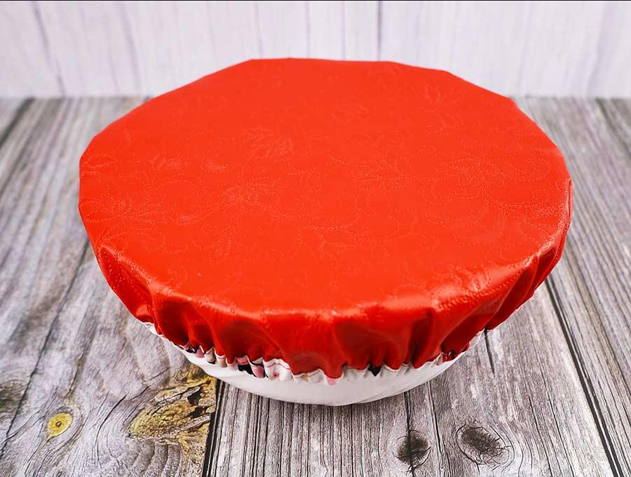 diy fabric bowl cover