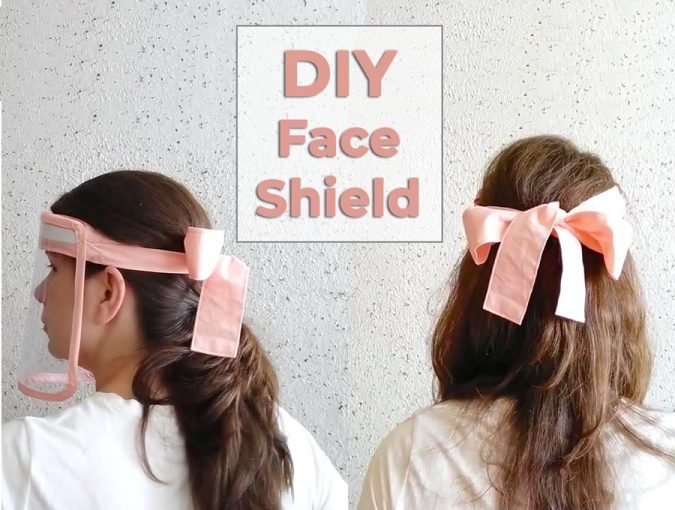 DIY face shield - how to make faceshield featured
