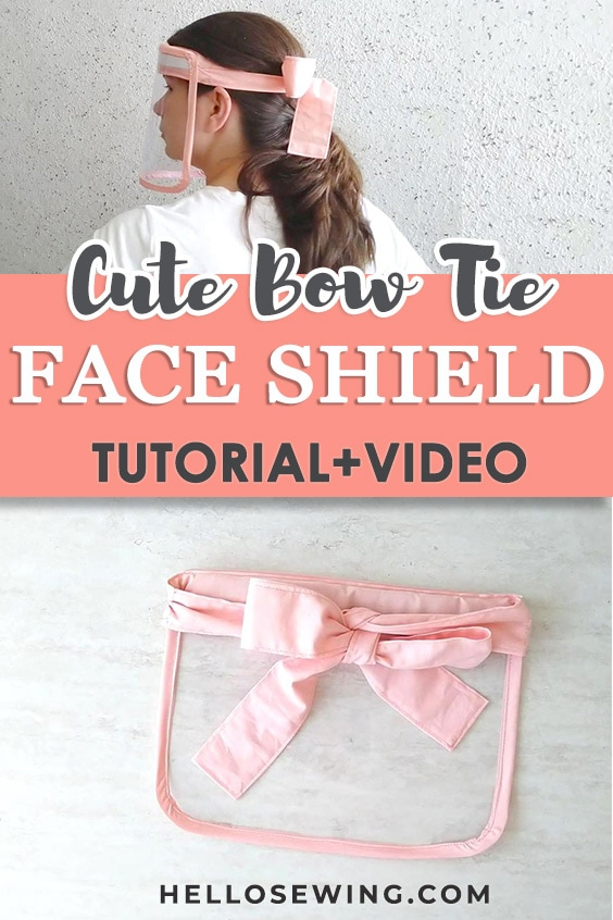 How to make a DIY face shield
