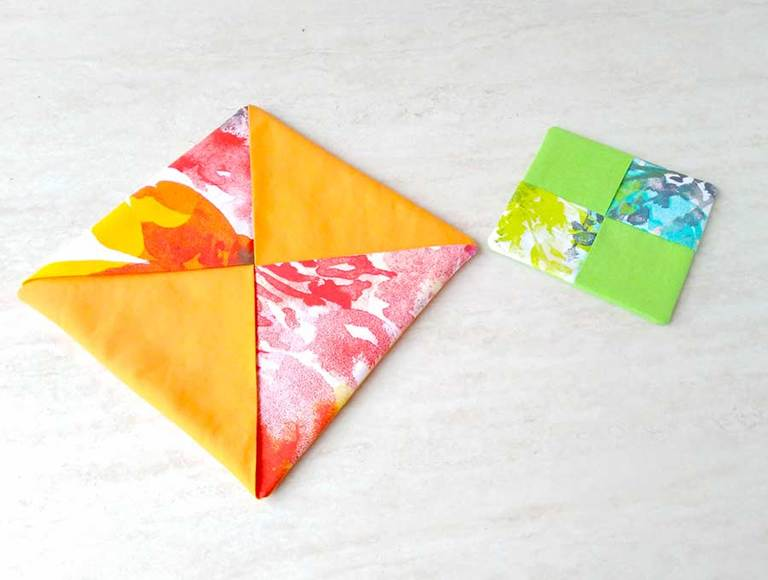 DIY Hot Pad Pattern and Tutorial How to Make It in 5 min