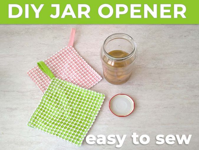 diy jar opener - how to make jar lid openers