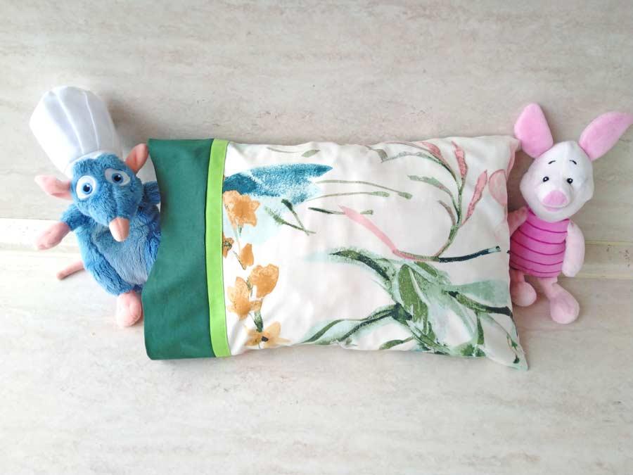 DIY pillowcase with toys