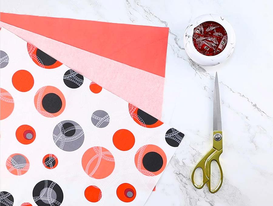 diy placemat supplies