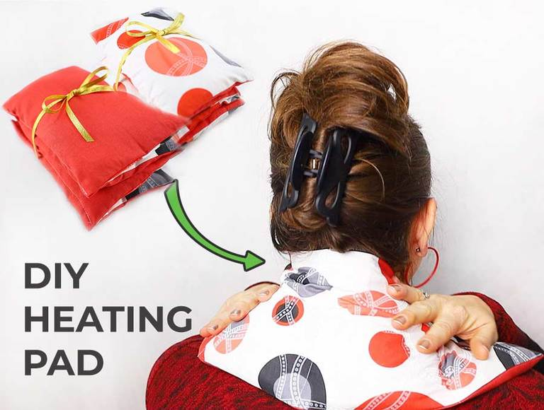 How to make a DIY Rice Heating Pad