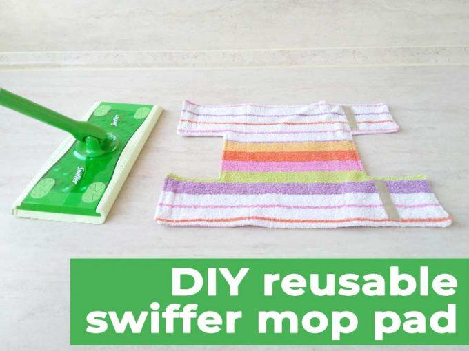 DIY swiffer pad