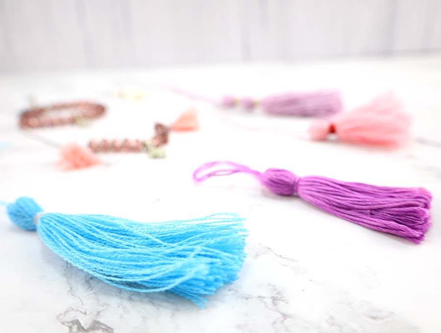 diy tassels side vide