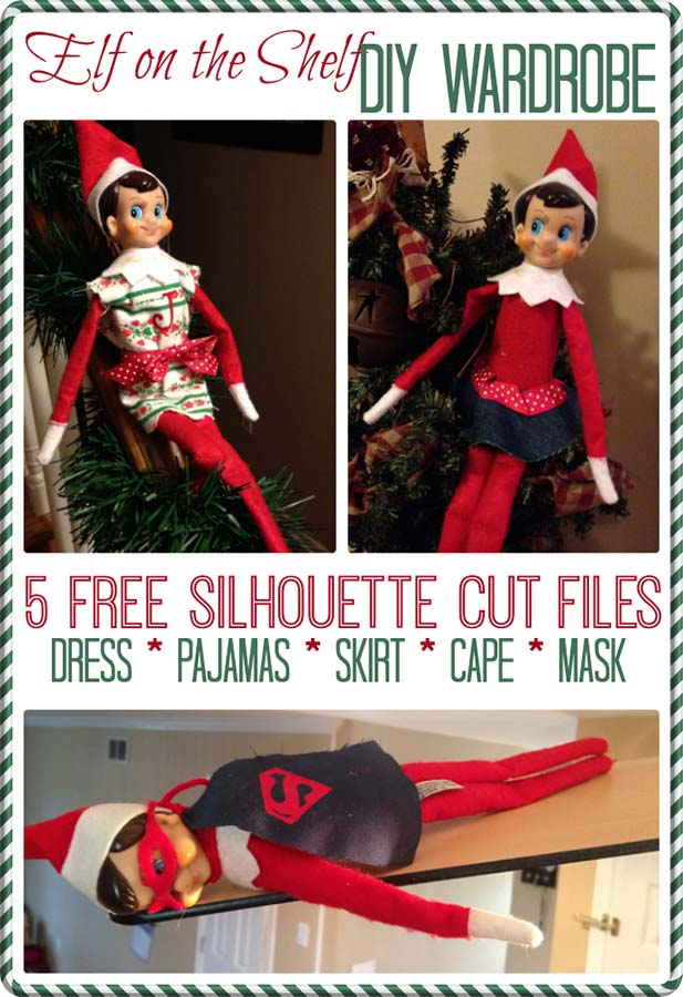 elf on the shelf costume pattern