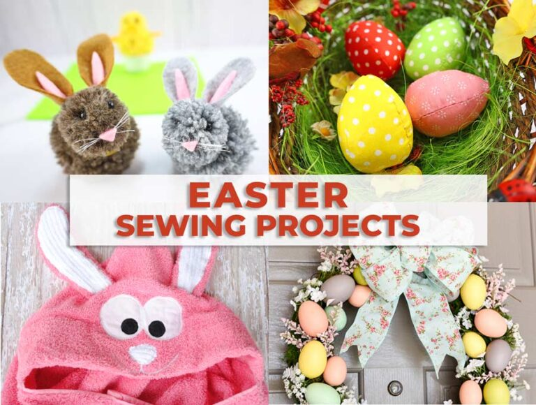 Easy Spring and Easter Sewing Projects