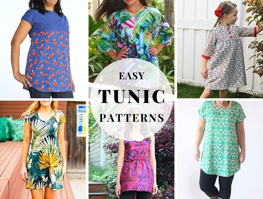 easy tunic patterns