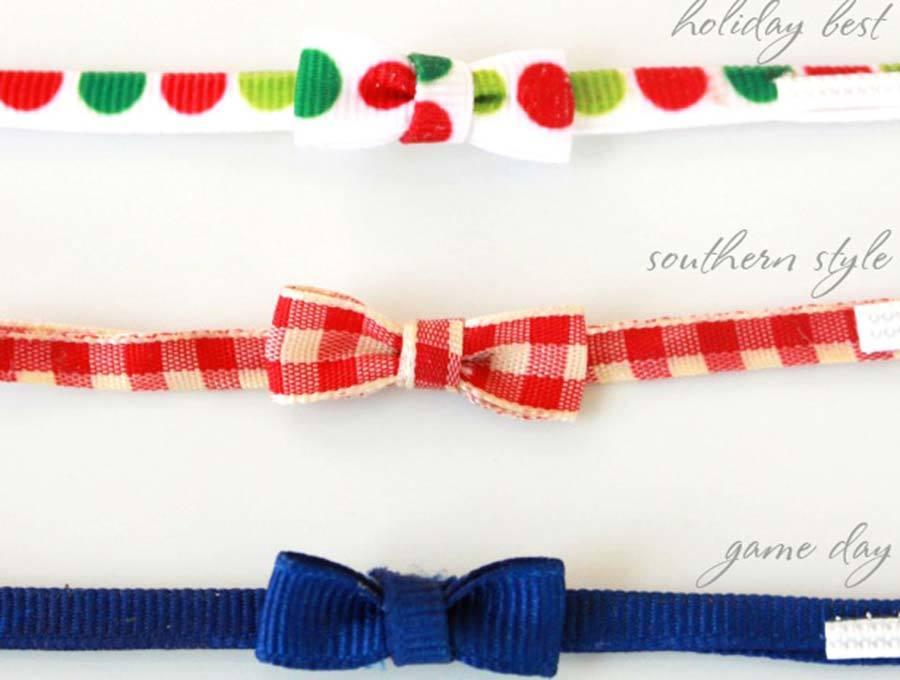 elf on the shelf bow tie scarf