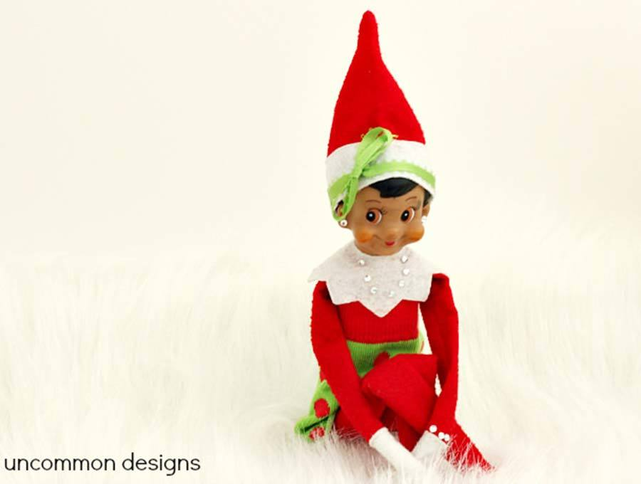 elf on the shelf dress pattern