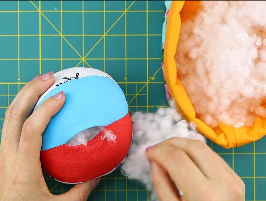 fabric ball stuffing