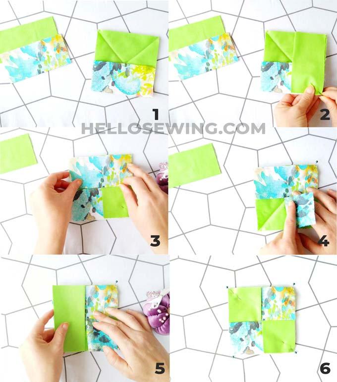 making fabric coasters