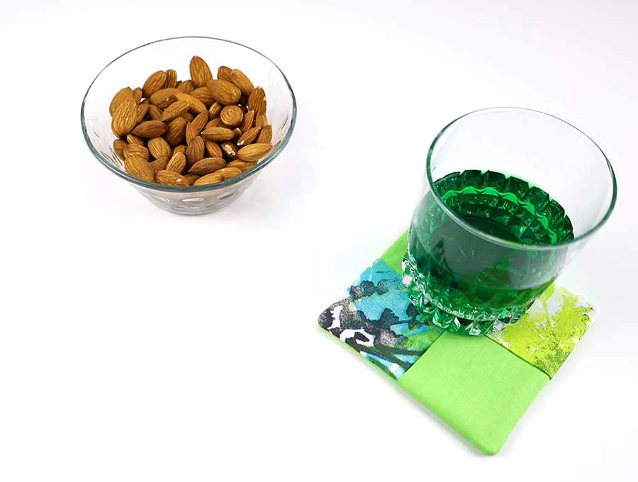 fabric coasters for drinks