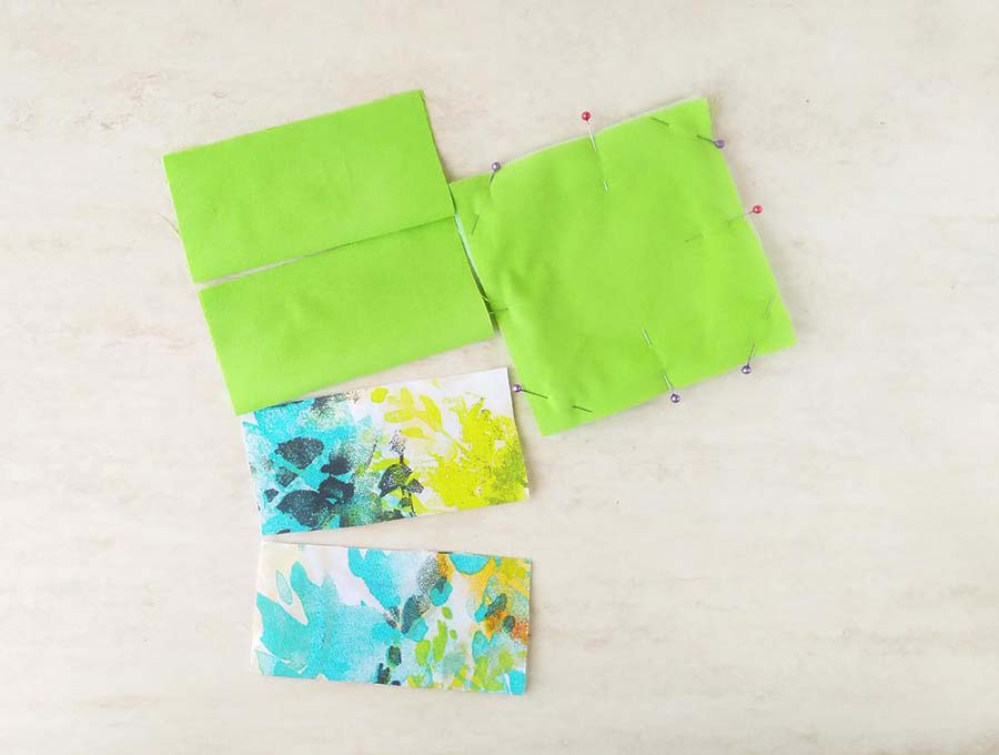 fabric coasters preparation
