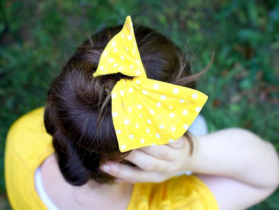 fabric hair bun maker