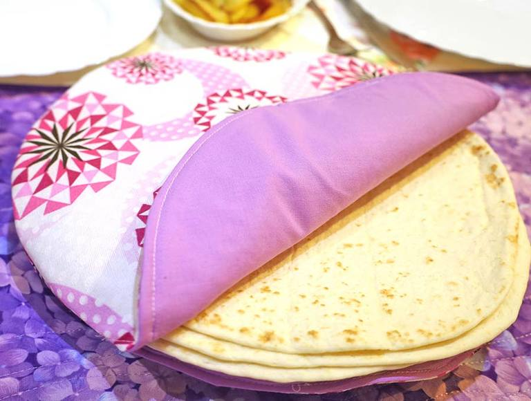 How to Make a Fabric Tortilla Warmer